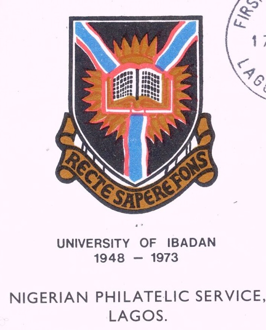 Official Nigerian first-day cover honoring the University of Ibadan.