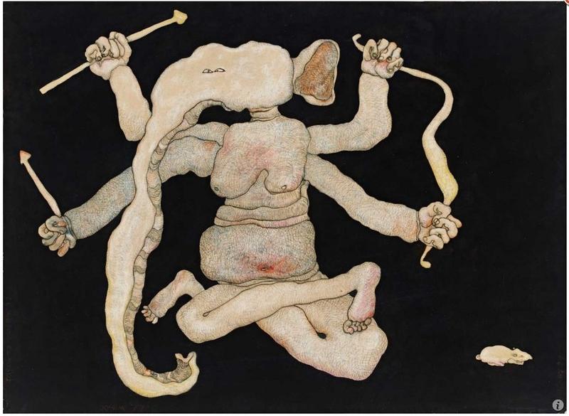 Ganapati the Warrior, by Jogen Chowdhury (1977)