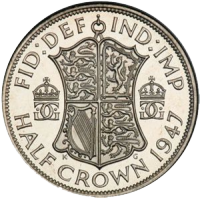 half-crown-George-VI